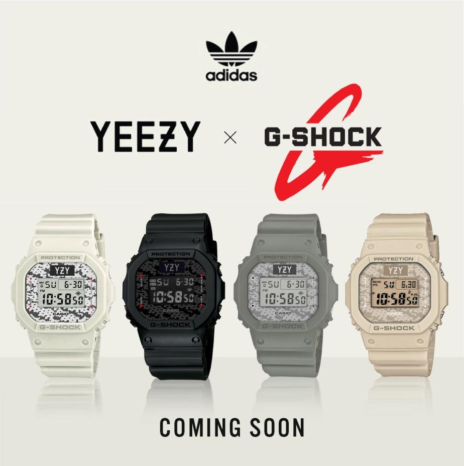 Kenia exótico Medio  G-Shock × Adidas × YEEZY – JER. Designs